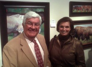Tom and Ann Korologos at Coor's Invitational