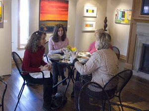 DLA Piper Art lovers at the Ann Korologos Gallery