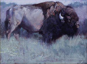 Jill Soukup - Bull Call 18x24