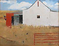 White-Barn, Red-Gate - Dinah Worman