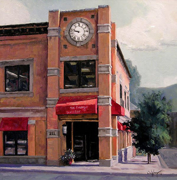 Ann Korologos Gallery in downtown Basalt, CO