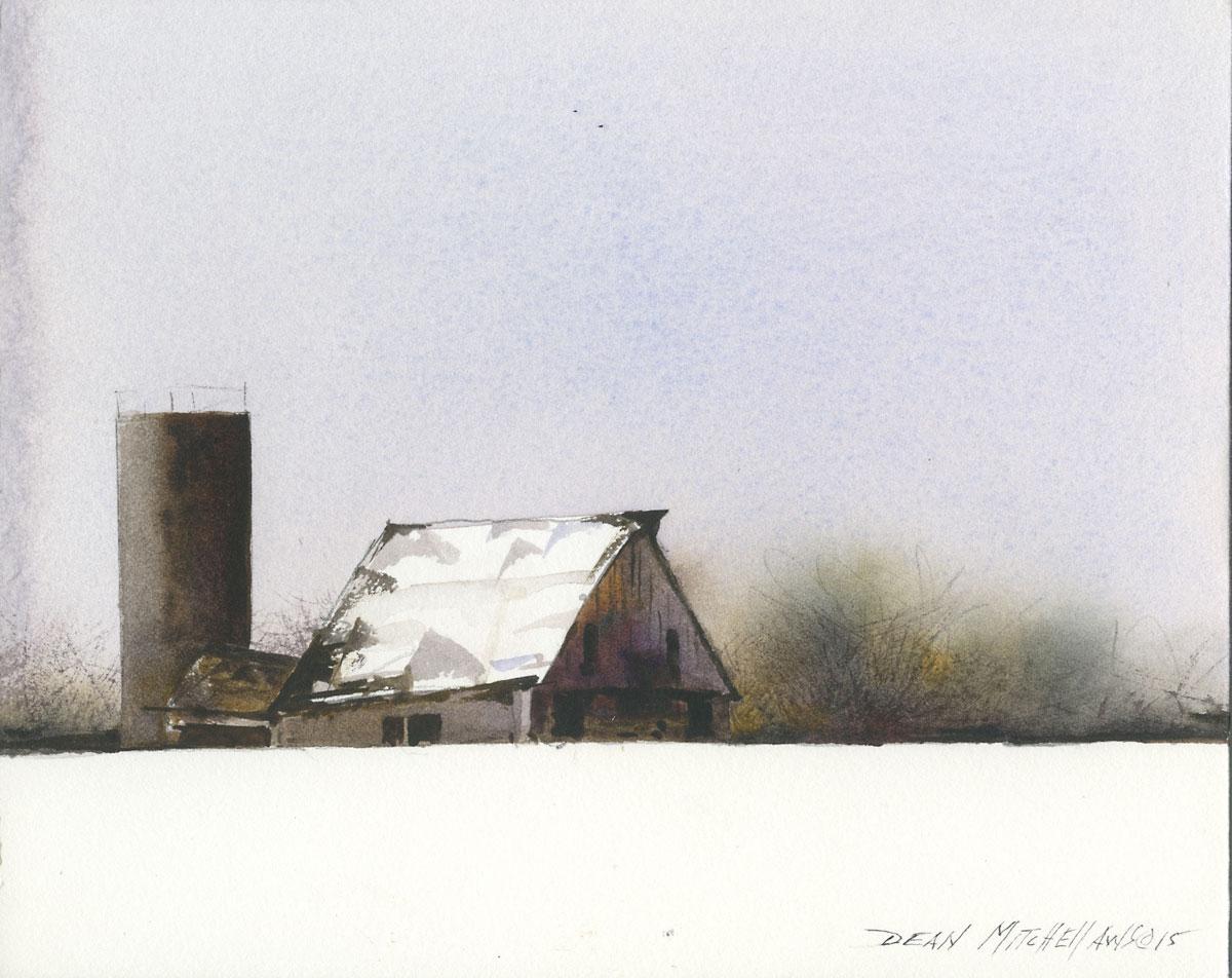 Dean Mitchell - Midwest Winter Barn