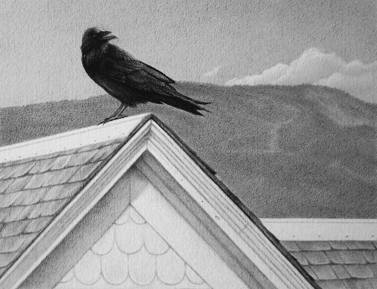 Brett Scheifflee - Old House, Old Raven
