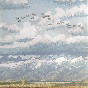 Leon Loughridge - Flight of Cranes 12/24