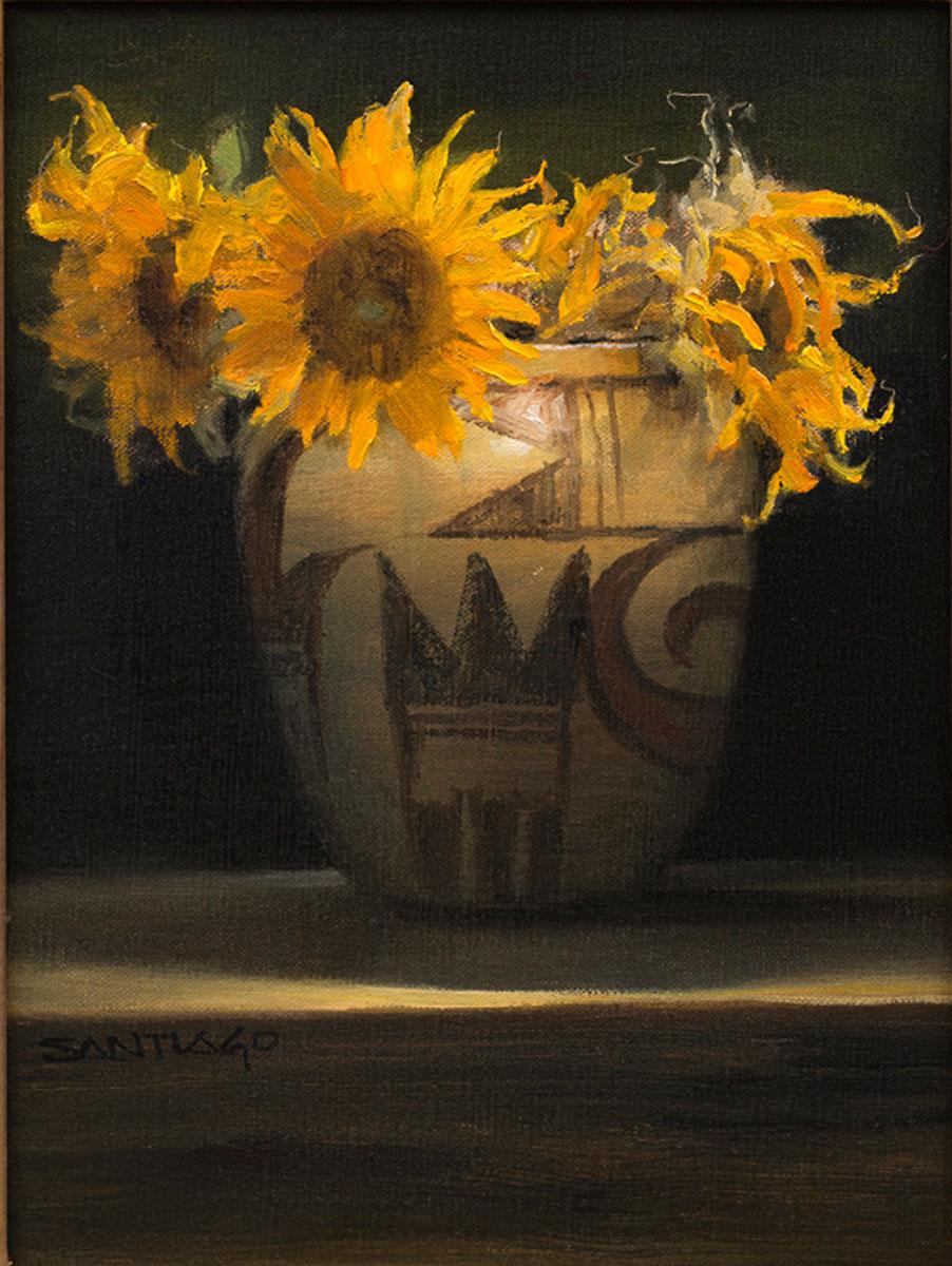 Roseta Santiago - Hopi-Sunflowers
