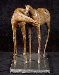 """Immi Storrs """"Future Horses"""" 2/6 Bronze 26""""x14""""x20"""""""