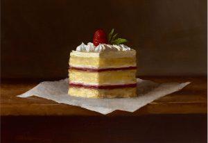 Sarah Lamb - Raspberry Cake