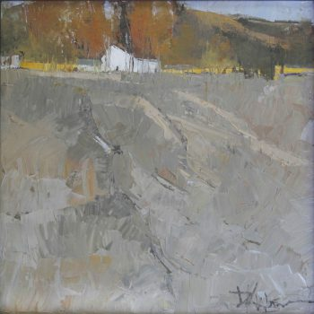 Dinah Worman-Waiting for Winter 12x12