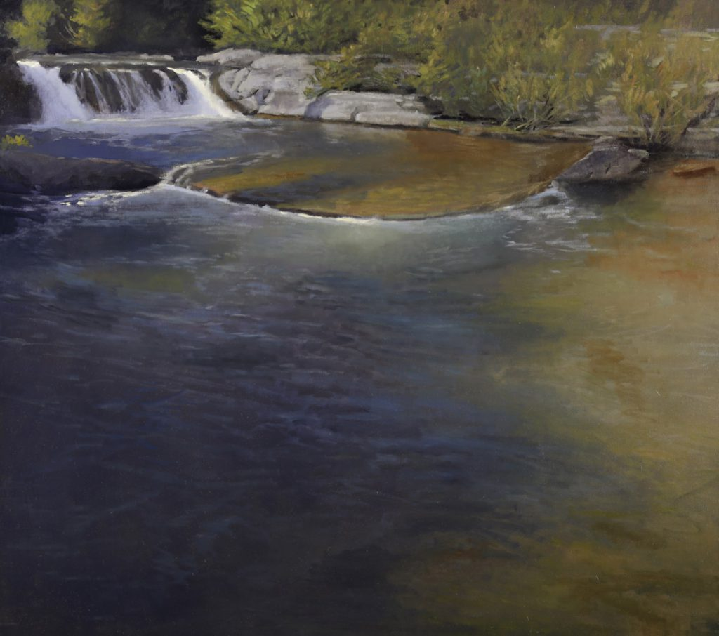 Peter Campbell - Lime Creek Falls 30x34