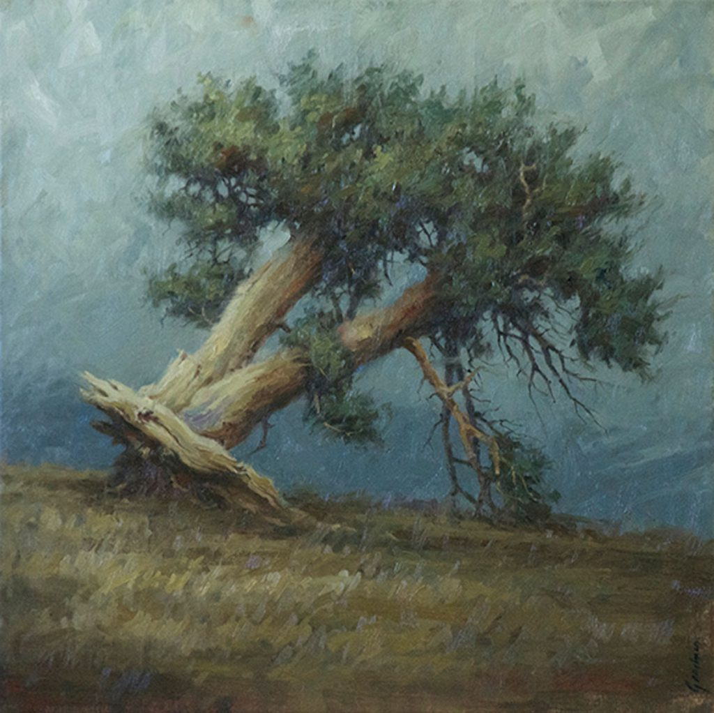 Terry Gardner - Uprooted 28x28