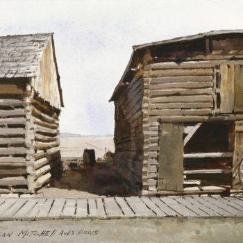 Dean Mitchell Trail Town Structures