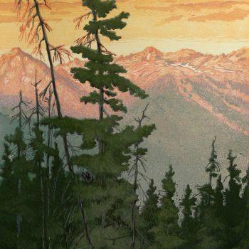 Leon Loughridge - Gore-Range-Sunrise