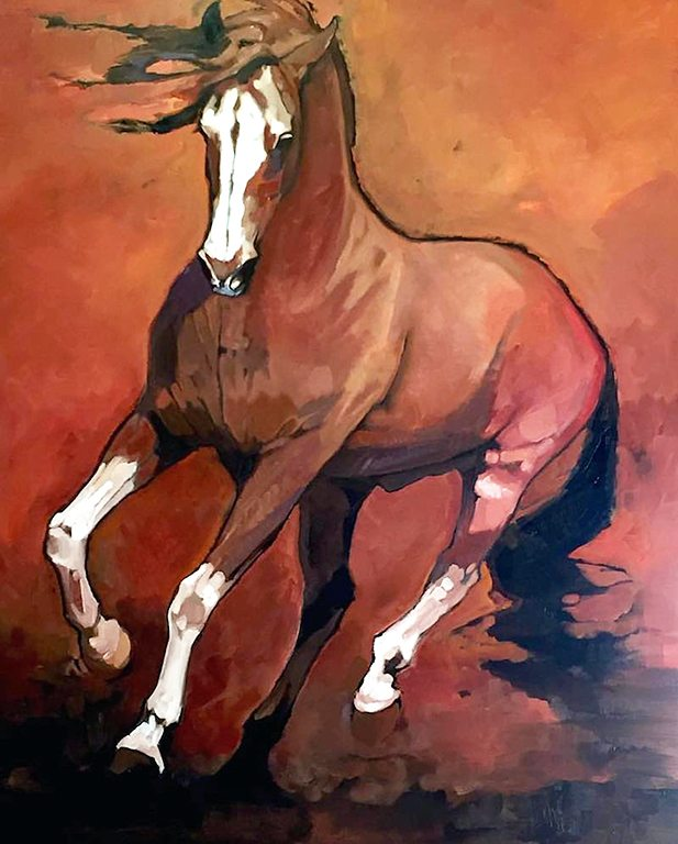 Peggy Judy - Painted Pirouette