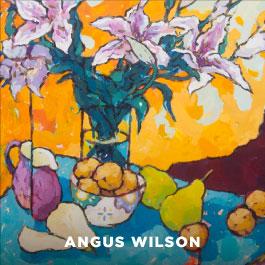 Angus Wilson painting