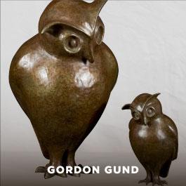 Gordon Gund sculpture