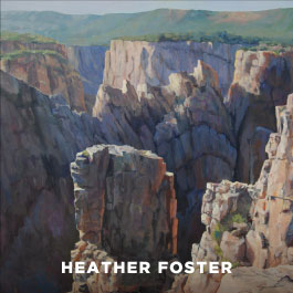 Heater Foster paintings
