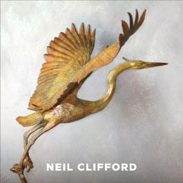 Neil Clifford sculpture
