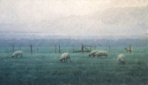 Terry Gardner - Sheep on the Western Slope