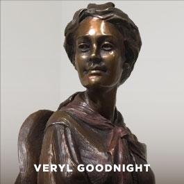 Veryl Goodnight sculpture