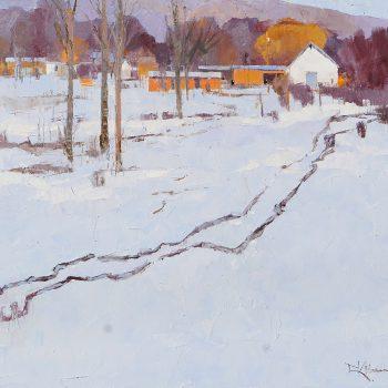 Dinah Worman - Winter's Late Light