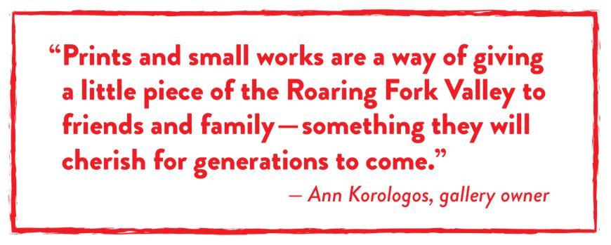 Art Collectors Holiday Ann Korologos
