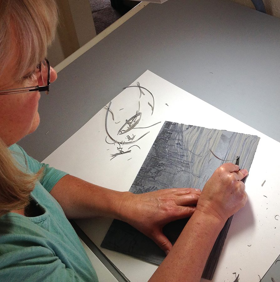 sherrie-york-printmaking-carving-the-block