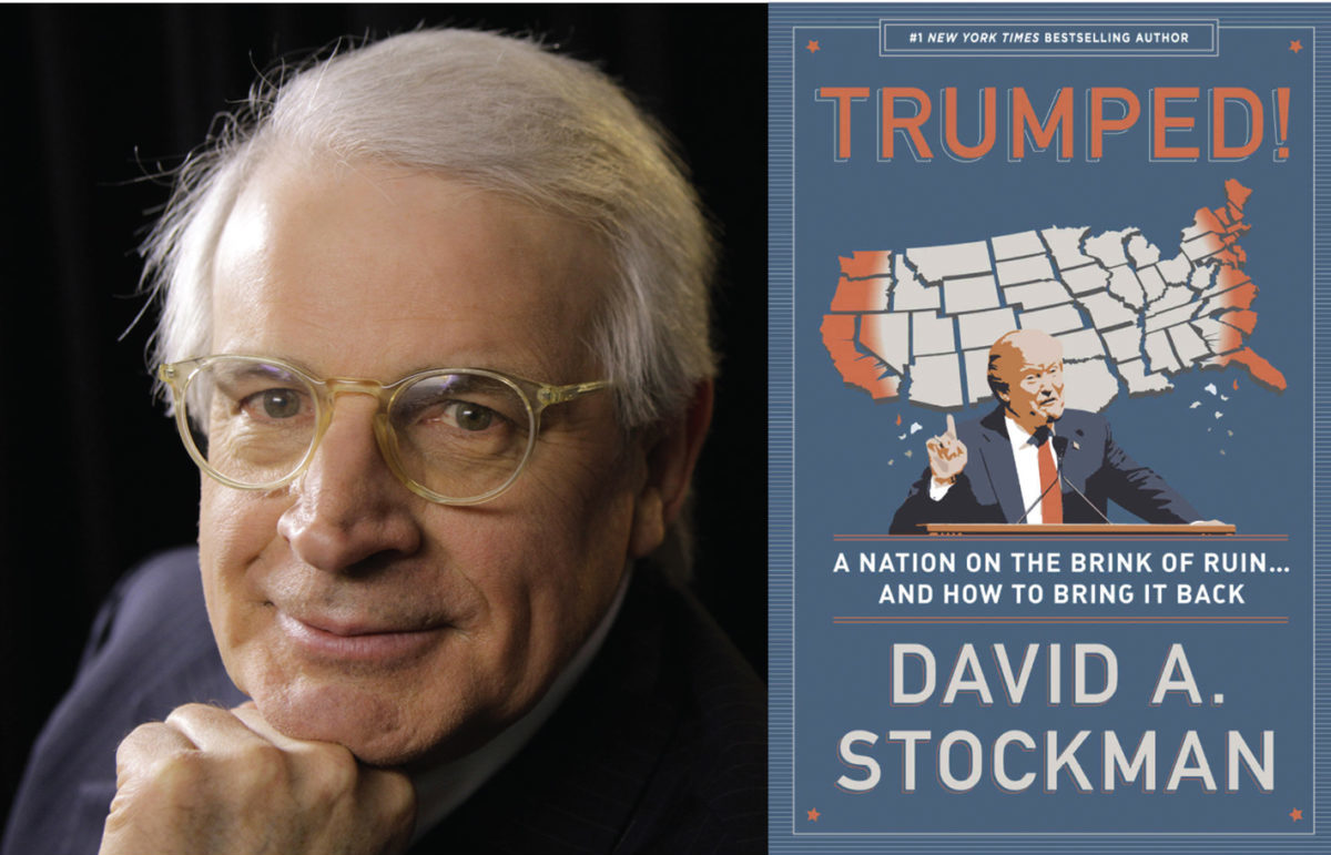 David Stockman book signing