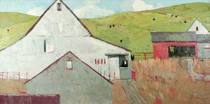 Dinah Worman - Barns & Cows