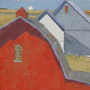 Dinah Worman - Layered Barns