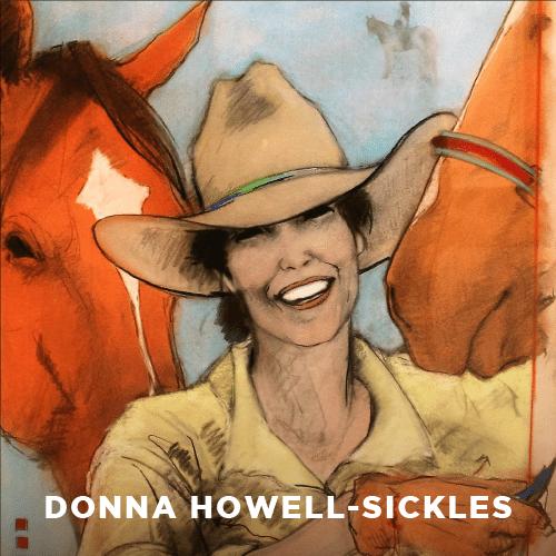 Donna Howell-Sickles, Artist