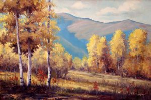 Simon Winegar - Morning Aspens