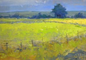 Simon Winegar - Yellow Field Study #1