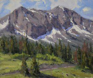 Dan Young - Toward Whitehouse Mountain