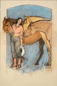 Donna Howell-Sickles - Buckskins Three