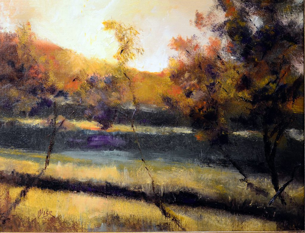 Marie Figge Wise - Golden Sunset
