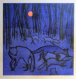 Paula Schuette Kraemer - Night Forest