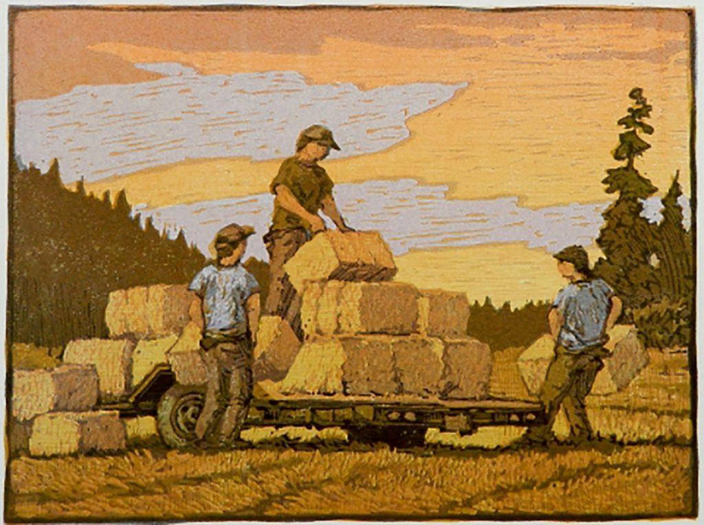 Leon Loughridge - Winter's Hay, 5/18