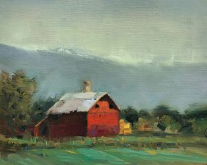 Peter Campbell - Barn on Niwot Road