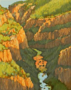 Leon Loughridge - Fractured Gorge 9/14