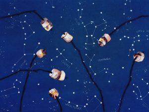 Paula Schuette Kraemer - Under the Stars 1420 detail