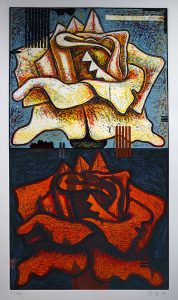 Aaron Fink - Double Rose 29/40