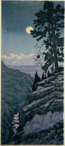 Leon Loughridge - Moon Over Gorge 7/34