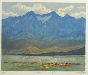 Leon Loughridge - Wild Horses Below Mt. Blanca 4/26