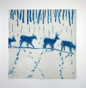 Paula Schuette Kraemer - Blue Deer Line 8/15