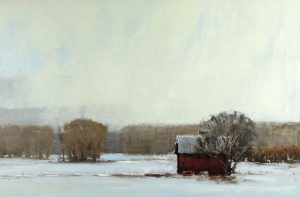 Peter Campbell - Barn in the Valley