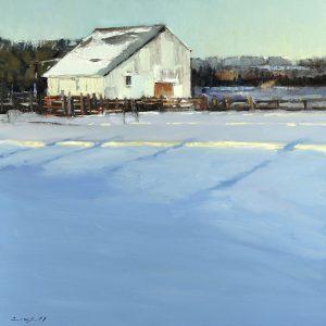 Peter Campbell - Winter Barn