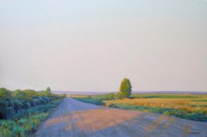 Linda Lillegraven - Shadows on Dalles Lane