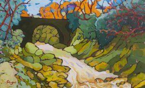 Angus Wilson - Bridge Under Winter's Sky