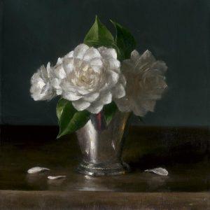 Sarah Lamb - Camellias in Silver