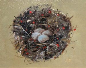 Marie Figge Wise - Easter Nest no frame